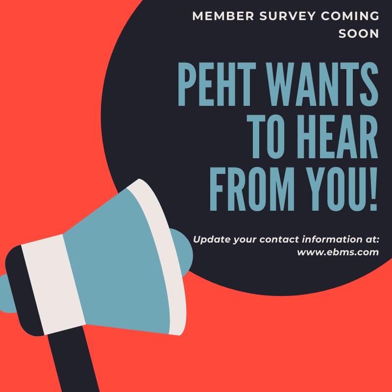 PEHT Member Survey